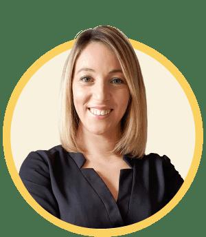 Sabrina Pagniez - mandataire immobilier BL - jaune
